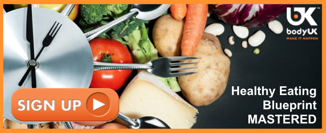 Healthy eating Blueprint Mastered - Sign Up Today